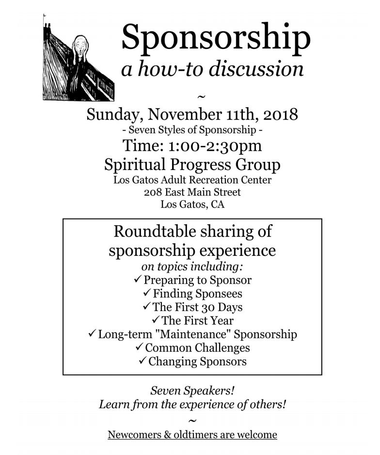 Sponsorship Workshop